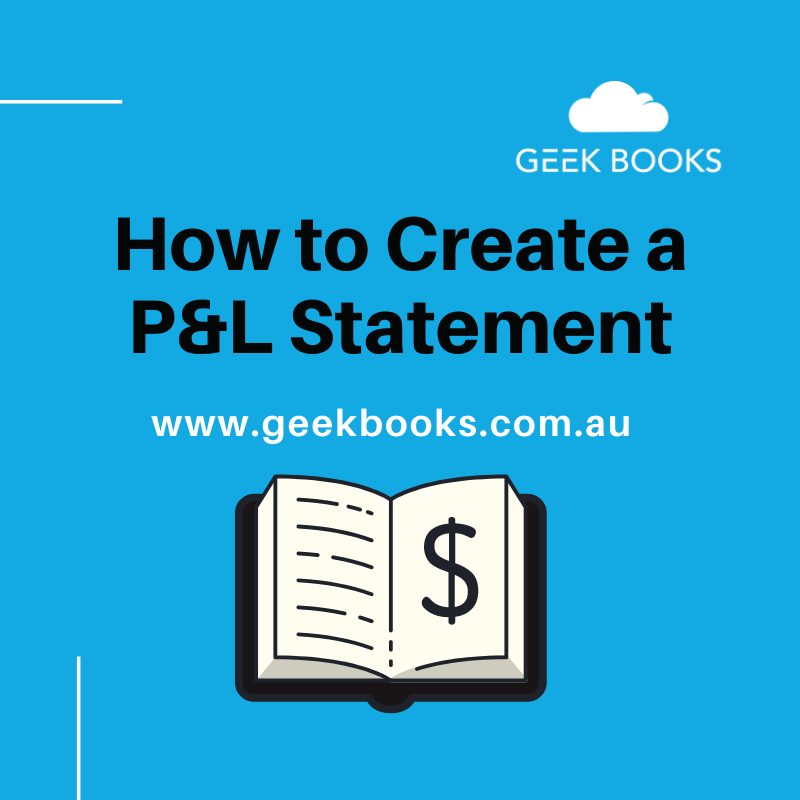 how to create a P&L statement
